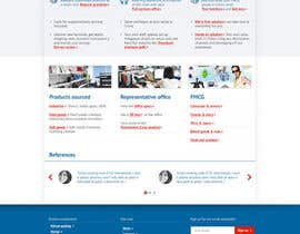 nº 197 pour Single Homepage needs redesign par aleca99