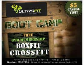 #21 for Ultrafit Boxfit /Bootcamp /CrossFit Flyer af designciumas