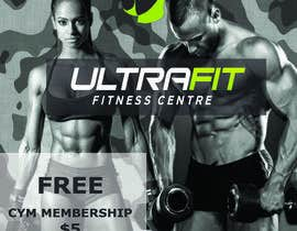 Nro 20 kilpailuun Ultrafit Boxfit /Bootcamp /CrossFit Flyer käyttäjältä polina0205
