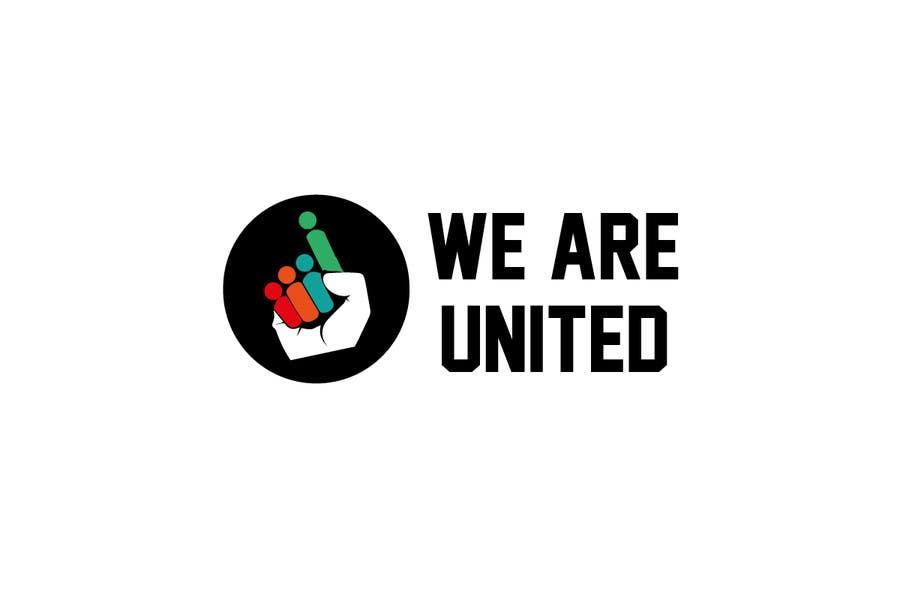 Penyertaan Peraduan #74 untuk Design a Logo for We Are United