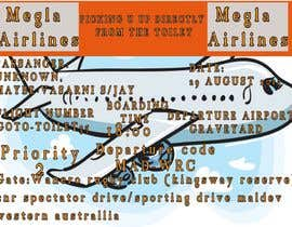 #2 untuk Design a Birthday invitation like a plane boarding card oleh akh55448bd0209d7