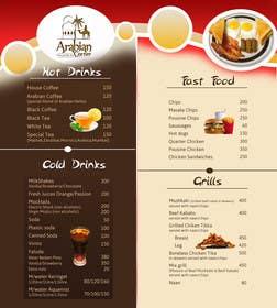 Nro 16 kilpailuun Design  Food and Beverage Menu for Shisha Sports Lounge -- 2 käyttäjältä grapple2013