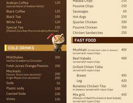 #23 para Design  Food and Beverage Menu for Shisha Sports Lounge -- 2 de mufzilkp
