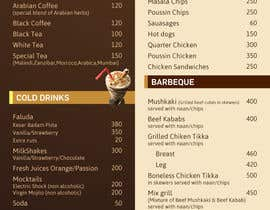 #25 para Design  Food and Beverage Menu for Shisha Sports Lounge -- 2 de mufzilkp