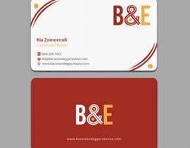 #98 for Design the back of a business card af einsanimation