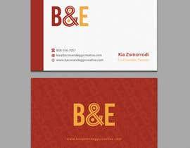 #102 for Design the back of a business card af einsanimation