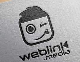 #63 para Design a Logo for 'weBlink.Media' por dimmensa