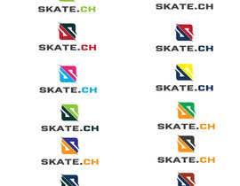 """Nro 106 kilpailuun Design eines Logos for """"skate.ch"""" käyttäjältä james97"""