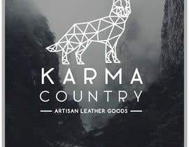 #81 cho Design a Logo for Karma Country - Leather Goods bởi layniepritchard