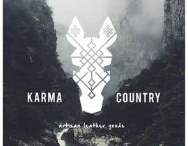 #87 for Design a Logo for Karma Country - Leather Goods by IuliaCrtg