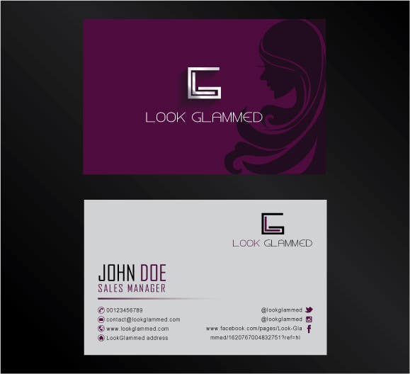 Bài tham dự cuộc thi #13 cho Design some Business Cards & Letterhead for Beauty video booking site