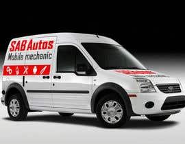 nº 30 pour Vehicle Graphics  Van Signage designs par rzndra01
