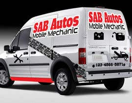 #45 para Vehicle Graphics  Van Signage designs por rogeriolmarcos