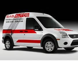 nº 22 pour Vehicle Graphics  Van Signage designs par jerrydkv