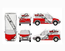#9 para Vehicle Graphics  Van Signage designs por Arreane21