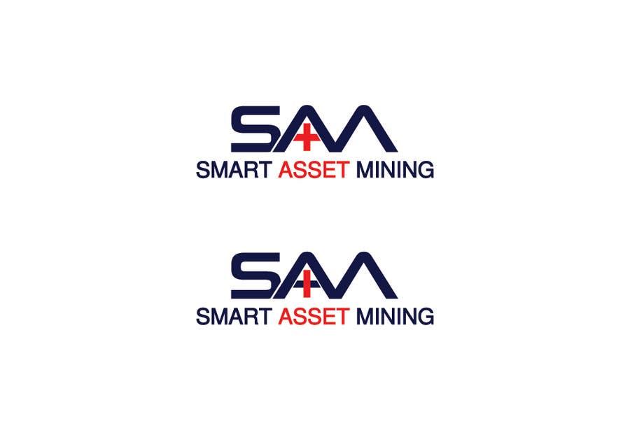 Kilpailutyö #135 kilpailussa Design a Logo for Smart Asset Mining (SAM)
