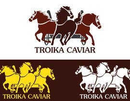 #40 untuk Thiết kế Logo for TROIKA CAVIAR oleh NadirSetif