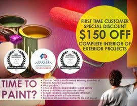 #3 untuk Design a Flyer for a painting company offer oleh designciumas