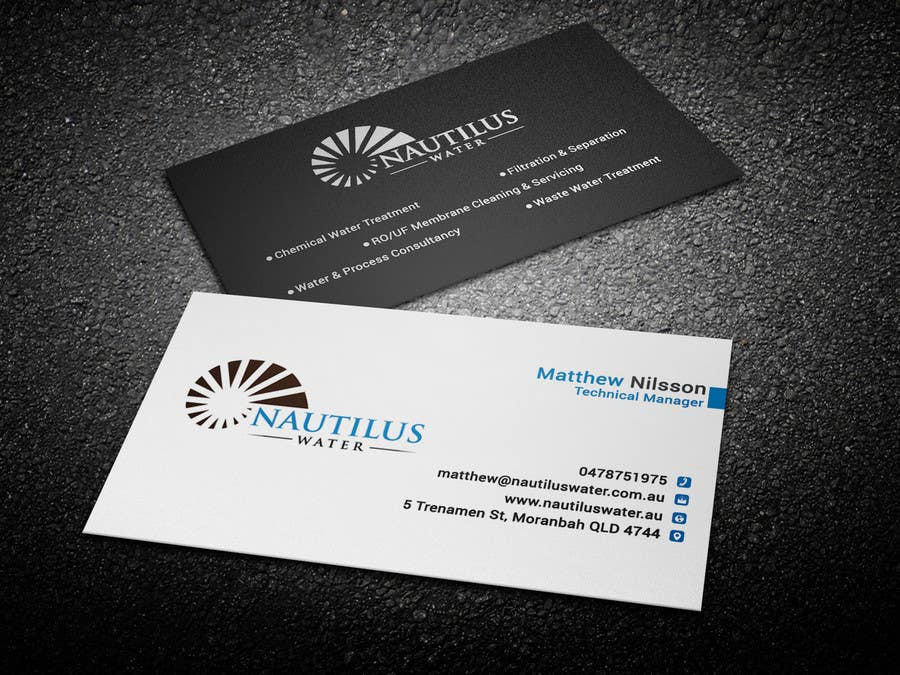 Entry 56 By Shafiqulphy For Design Some Business Cards Nautilus