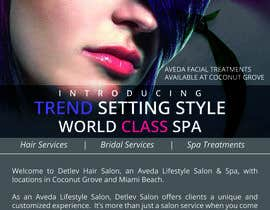 #14 for Design an Advertisement for a Hair Salon af roopalcurio