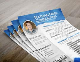 #5 untuk Design a Flyer for a Consulting Business -- 2 oleh abudabi3