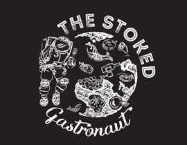 #74 for Logo for a restaurant investment company: The Stoked Gastronaut by Helen2386