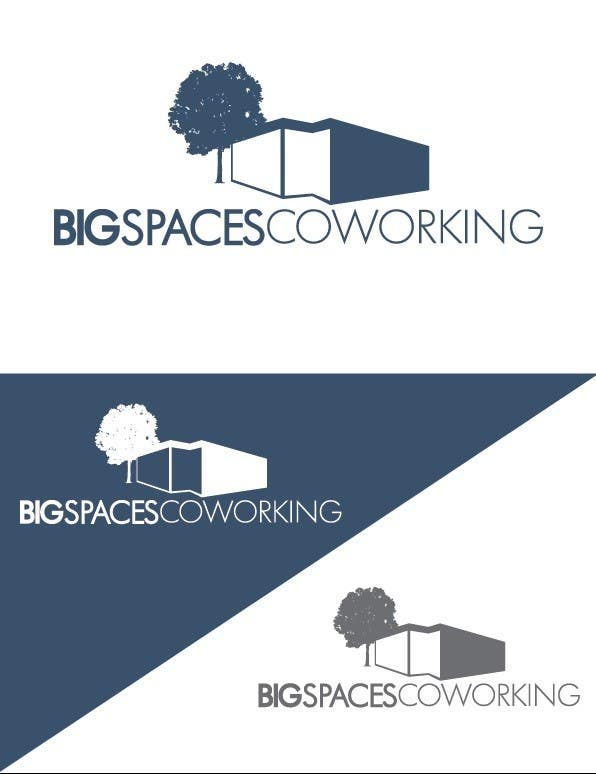 Kilpailutyö #8 kilpailussa Projetar um Logo for Big Spaces Coworking