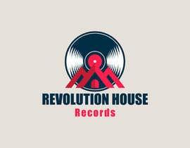 #7 untuk Design a Logo for Revolution House (Record Label) oleh Abdelrahman99