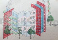"Bài tham dự #30 về Graphic Design cho cuộc thi 3 DAYS CONTEST: Interior and Exterior Building View of any kind Hand Sketches or Sketchup ""look alike hand sketches """