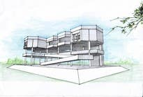 """Bài tham dự #24 về Graphic Design cho cuộc thi 3 DAYS CONTEST: Interior and Exterior Building View of any kind Hand Sketches or Sketchup """"look alike hand sketches """""""