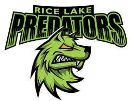 nº 40 pour Logo Design: Rice Lake Predators Football par kiekoomonster