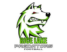 nº 48 pour Logo Design: Rice Lake Predators Football par teodorbud