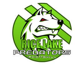 nº 50 pour Logo Design: Rice Lake Predators Football par teodorbud