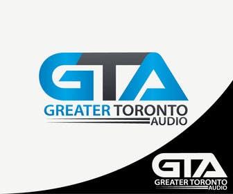 Nro 26 kilpailuun Design a Logo for Greater Toronto Audio käyttäjältä alikarovaliya