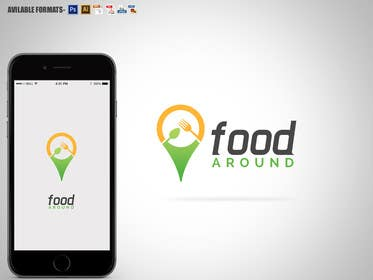 #48 for Disegnare un Logo for foodaround (app) af RomeoZR