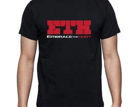 lokesh006 tarafından Design a T-Shirt for Embrace The Hurt için no 8