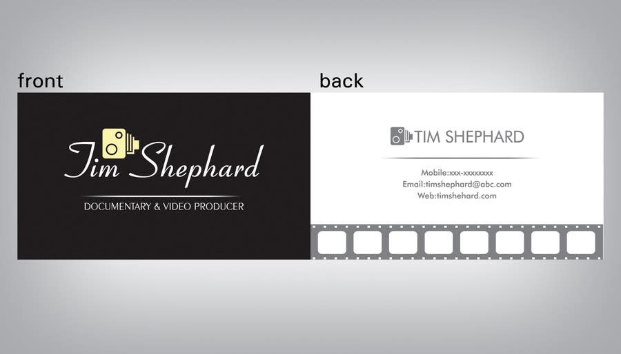Contest Entry #39 for Business Card Design for Tim Shephard