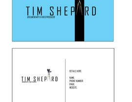 #34 para Business Card Design for Tim Shephard de carmela05