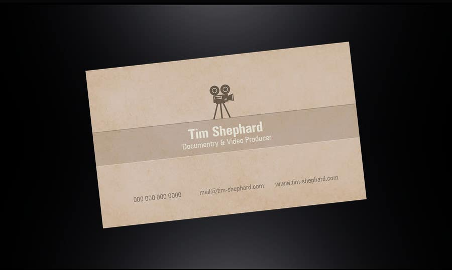 Konkurrenceindlæg #                                        31                                      for                                         Business Card Design for Tim Shephard