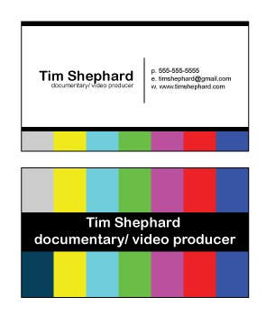 Contest Entry #                                        26                                      for                                         Business Card Design for Tim Shephard