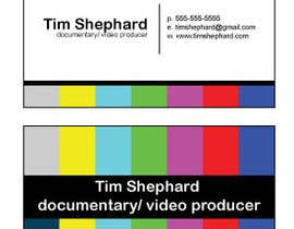 #26 para Business Card Design for Tim Shephard de Greenpty