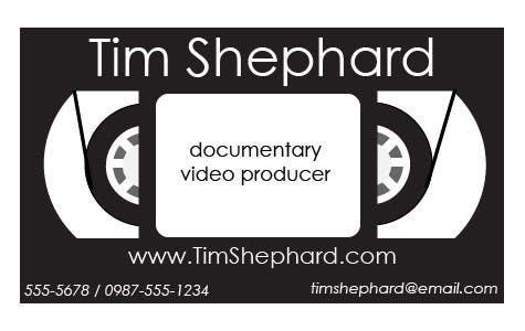 Konkurrenceindlæg #                                        37                                      for                                         Business Card Design for Tim Shephard