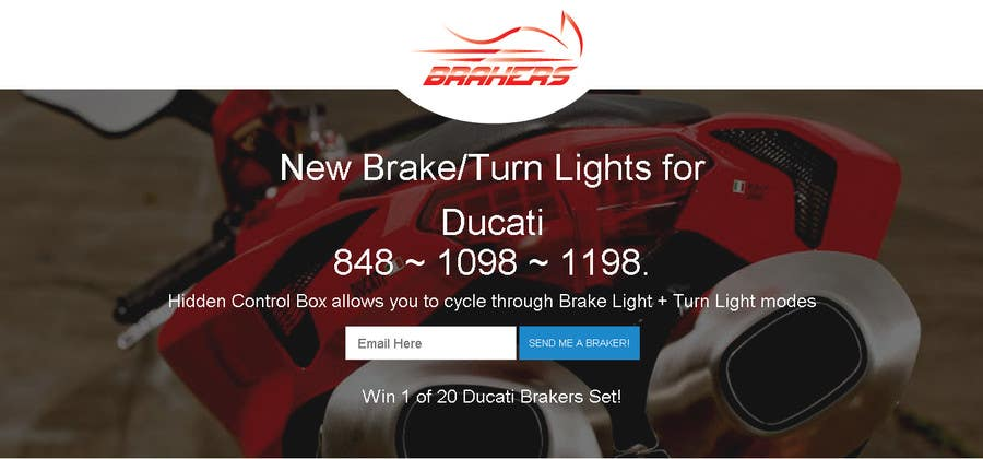 Contest Entry #                                        92                                      for                                         Design a Logo for Motorcycle Brake/Turn Lights Company