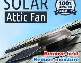 #39 for Solar Attic Fan Make Sexy Pop by taraskhlian