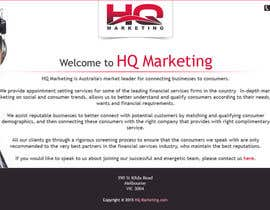 #34 for Build a Website for HQ Marketing by aryamaity