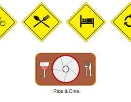 #6 untuk Design some Icons for bike tour business oleh nabati0123