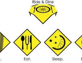 #1 untuk Design some Icons for bike tour business oleh arhitekta