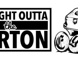 "#8 for Design a T-Shirt for EGG ""Straight Outta THE Carton"" by dsgrapiko"