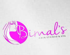 #93 untuk NEED A Stylish / Professional Salon / Hair Studio / Spa - logo design oleh GraphicHimani