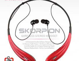 #24 untuk Create Print and Packaging Designs for Skorpion Bluetooth Headset oleh avtoringUK
